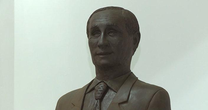 El retrato más dulce de Putin