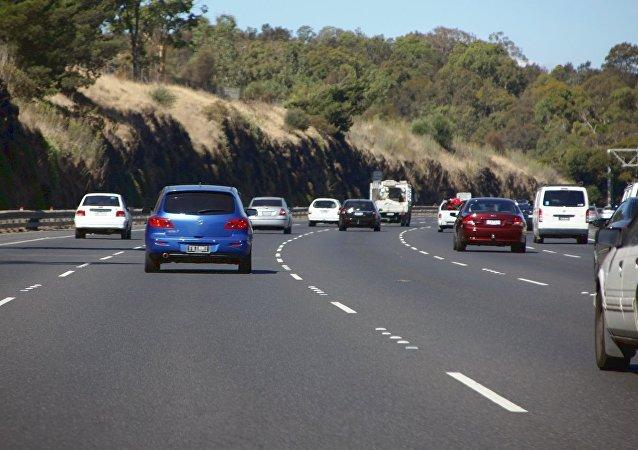Una carretera en Australia