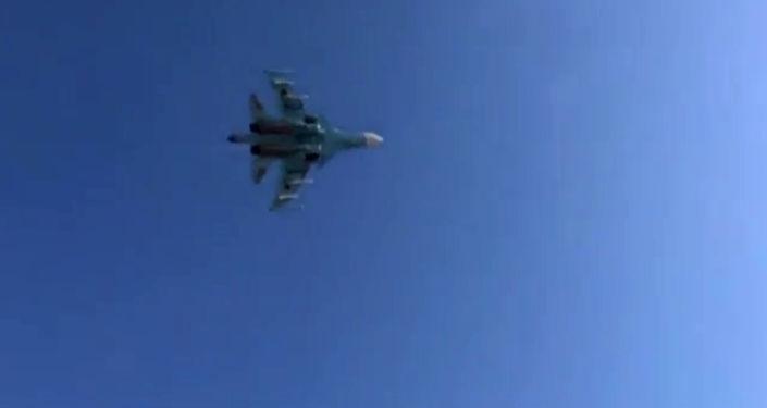 Caza ruso Su-34 (Archivo)