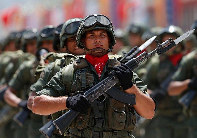 Soldados venezolanos (archivo)