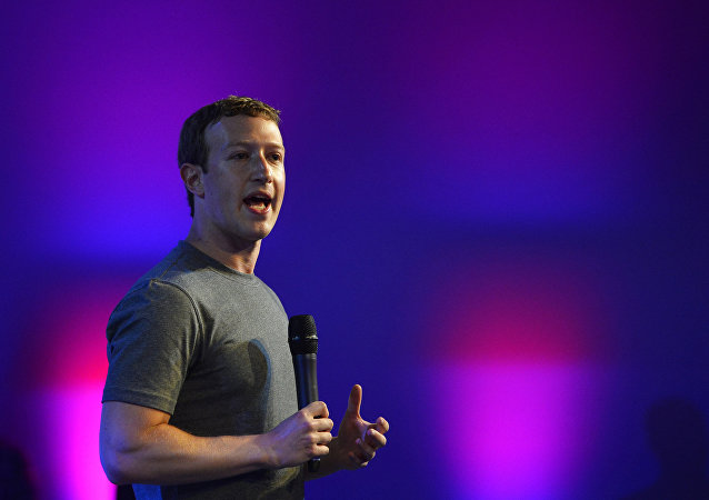 Mark Zuckerberg, fundador y presidente de Facebook
