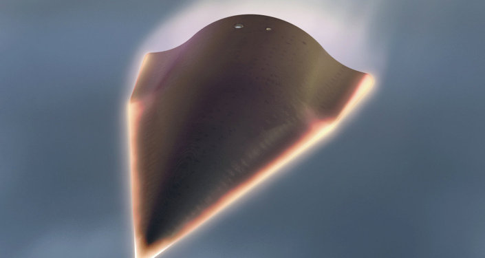 Vehículo de tecnología hipersónica Falcon 2 (ilustración)