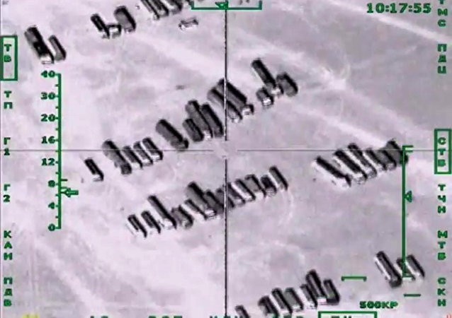 Bombardeos de Rusia contra la planta petrolera del EI en Siria