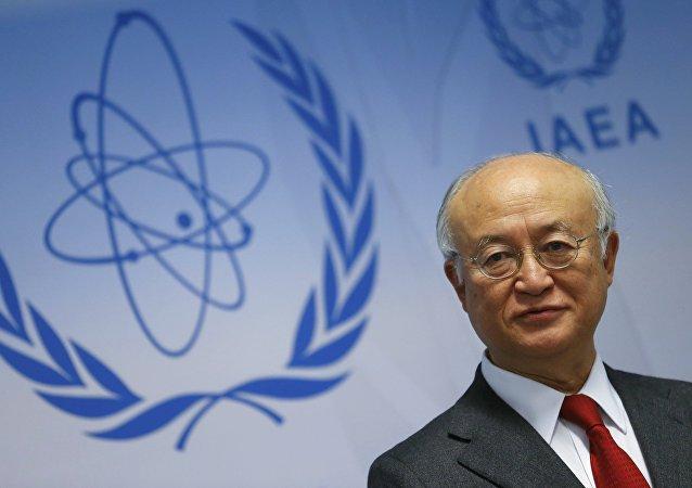 Yukiya Amano, el director general del Organismo Internacional de Energía Atómica (OIEA)