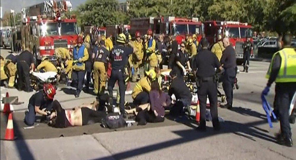 Múltiples víctimas por tiroteo en California