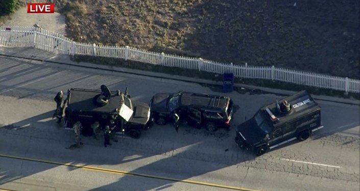Un sospechoso abatido y otro detenido tras tiroteo en San Bernardino