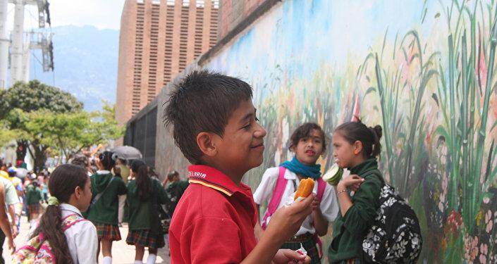 Niños en la escuela (imagen refencial)