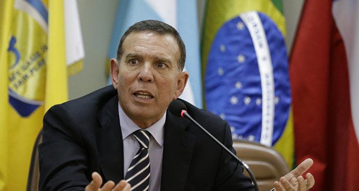 Juan Ángel Napout, presidente de la Confederación Sudamericana de Fútbol