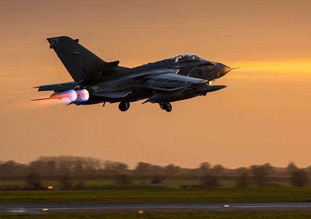Caza Tornado de la RAF británica
