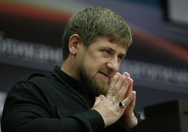 Ramzán Kadírov, presidente de Chechenia