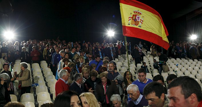Los partidarios de Mariano Rajoy en Málaga