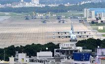 Base de la Fuerza Aérea estadounidense Futenma en Okinawa