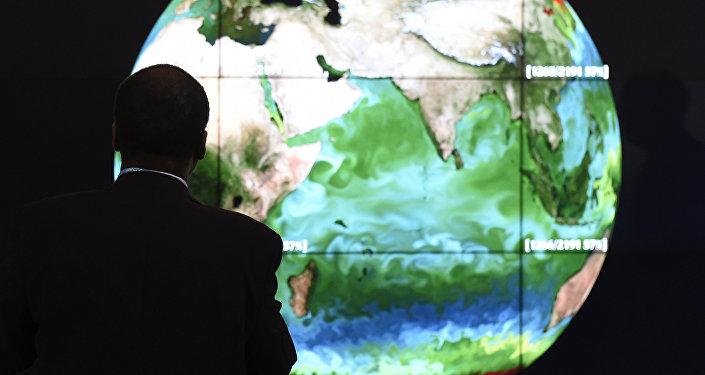 Mapa climático de la Tierra