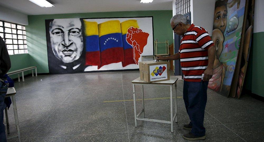 Triunfo de la revolucion bolivariana
