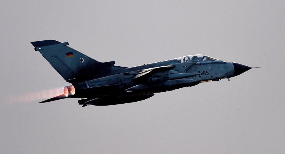 Avión Tornado de la Fuerza Aérea alemana