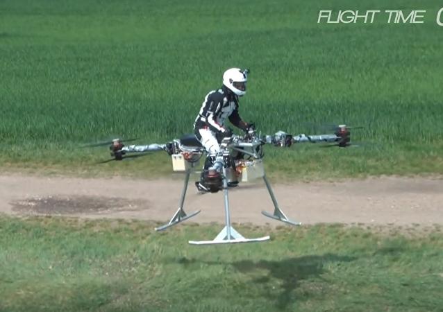 La primera moto voladora del mundo