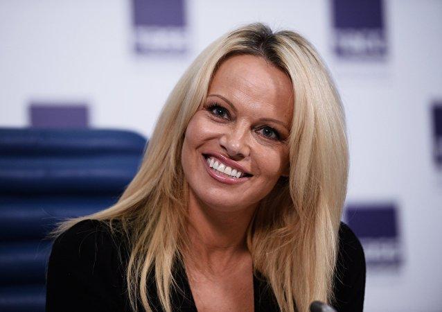 Pamela Anderson, la actriz estadounidense