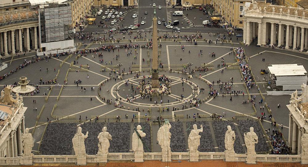 La Plaza de San Pedro, el Vaticano (archivo)