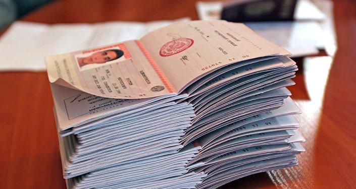 Pasaportes rusos