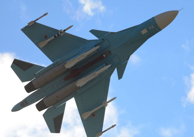 Caza ruso Sukhoi Su-34