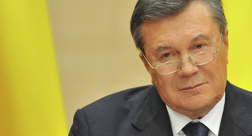Víctor Yanukóvich, el expresidente de Ucrania