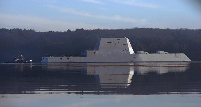 USS Zumwalt, destructor furtivo de la Armada de EEUU