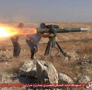 Las armas de los yihadistas del grupo Daesh