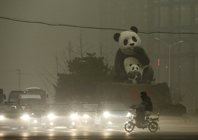 Contaminación en Pekín