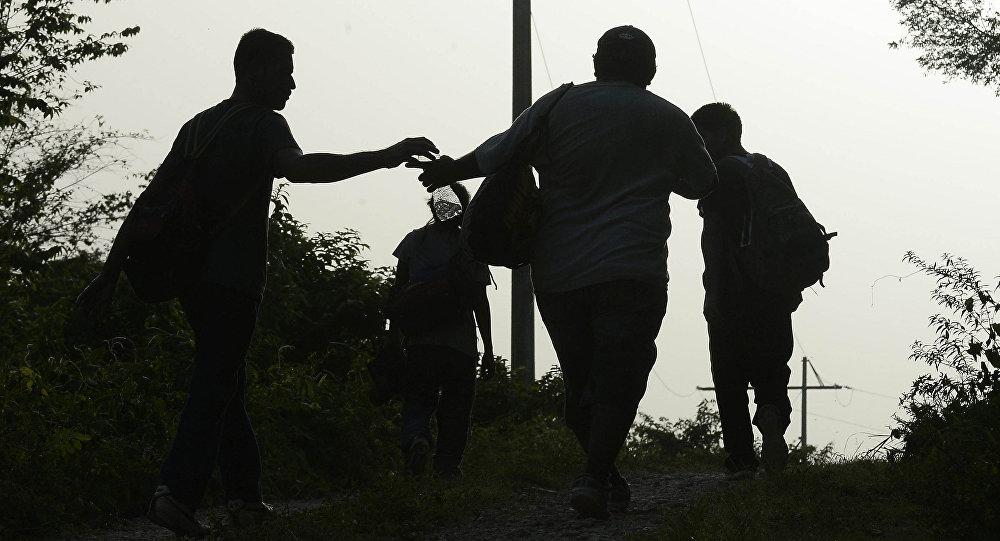 Inmigrantes ilegales en México (archivo)