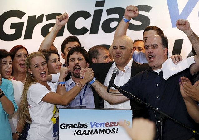 Oposición gana dos tercios del Parlamento venezolano