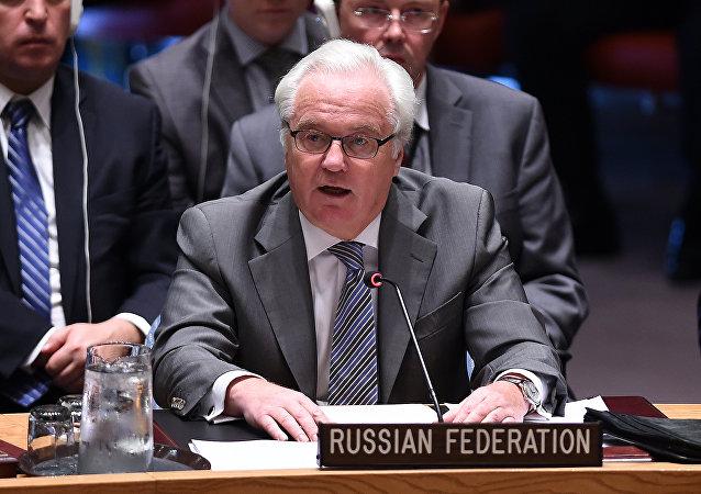 Vitali Churkin, embajador de Rusia ante la ONU