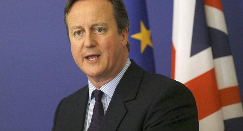 David Cameron, el primer ministro británico
