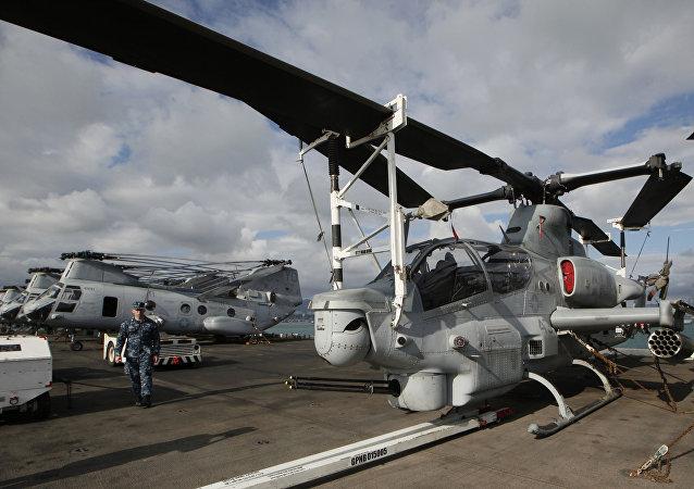 Helicópteros estadounidenses (Archivo)