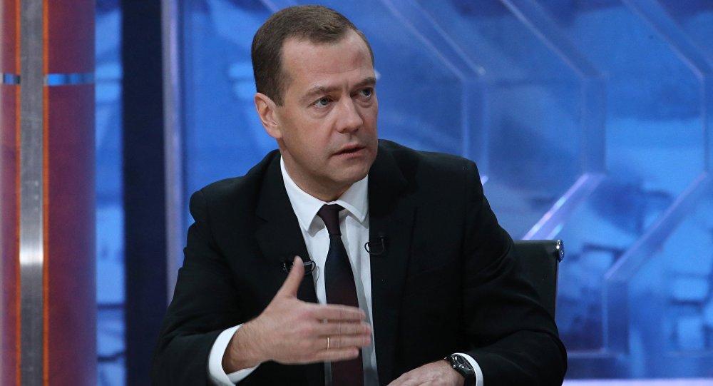 Dmitri Medvédev, primer ministro de Rusia