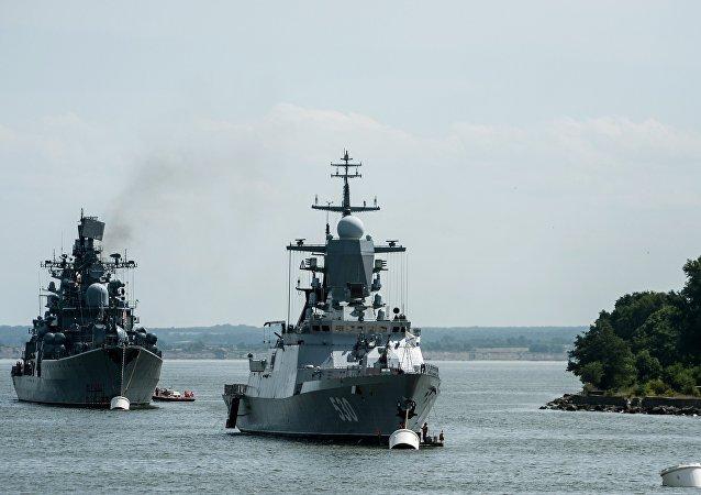Corveta Stereguschi de las Fuerzas Navales rusas