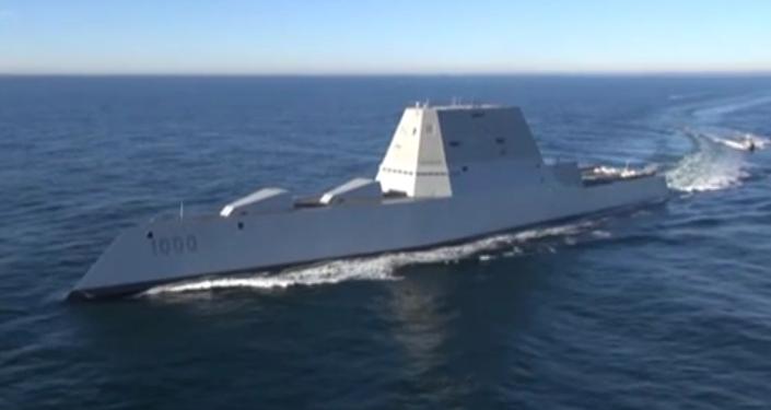 USS Zumwalt, un buque destructor de misiles guiados