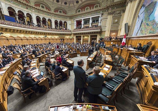 Elecciones en el Legislativo de Suiza