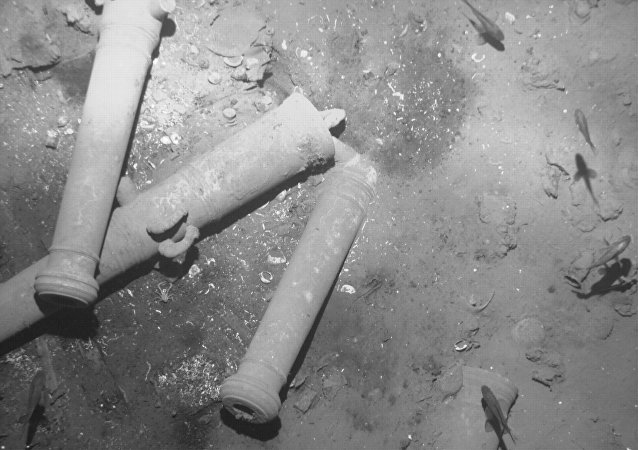 Los artefactos hallados entre los restos del galeón español San José