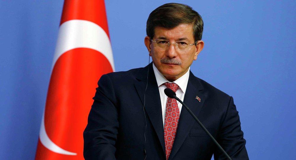 Ahmet Davutoglu, primer ministro de Turquía