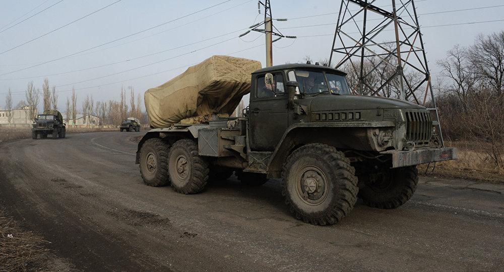 Sistemas Grad de las milicias de Donbás (Archivo)