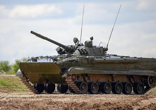 Vehículo de combate de infantería de Rusia BMP-3