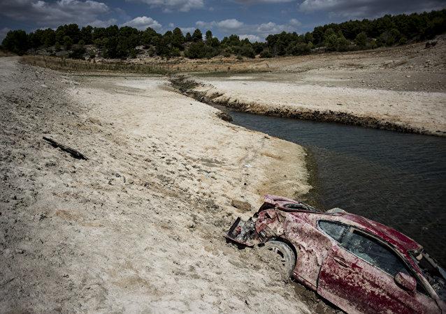Sequía, Guadalajara, el 3 de septiembre de 2015