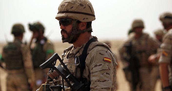 Soldado español (archivo)