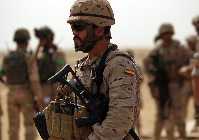 Soldado español