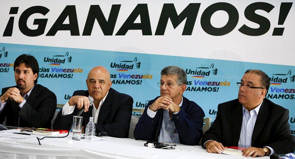 Resultado de imagen para La coalición Mesa de la Unidad Democrática de Venezuela