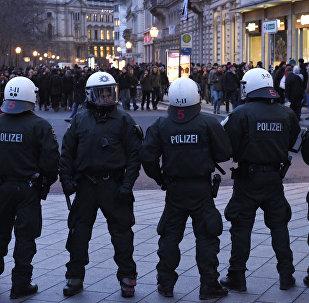 Policías alemanes (Archivo)