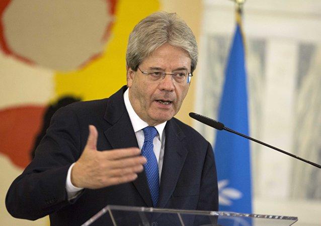 Paolo Gentiloni, primer ministro italiano