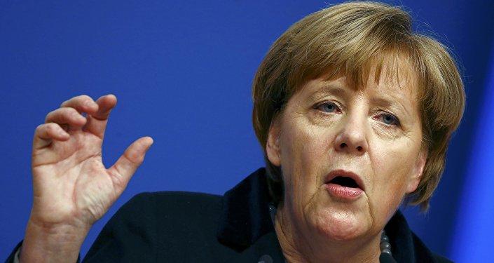 Angela Merkel, cancillera de Alemania