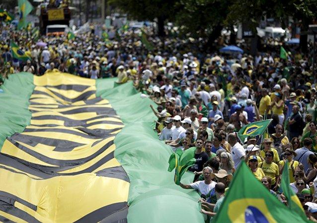 Protestas antigubernamentales en Brasil