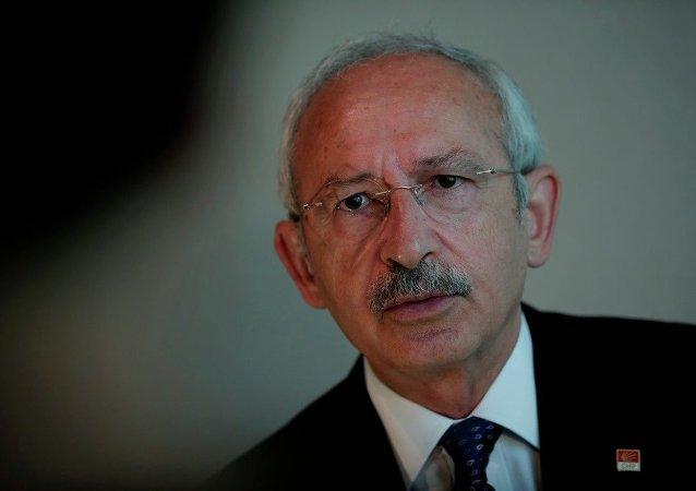 Kemal Kilicdaroglu, líder del principal partido de la oposición turca